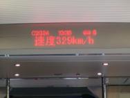 The Beijing - Tianjin Bullet Train